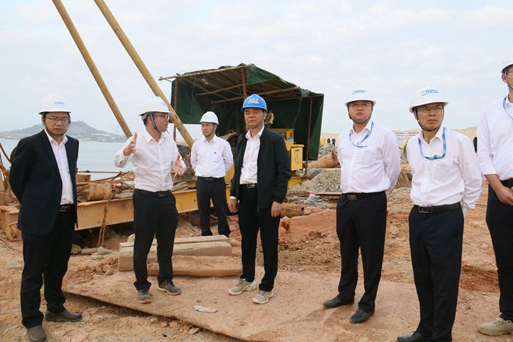 刘乃英率队调研督导集团重点项目节后复工工作